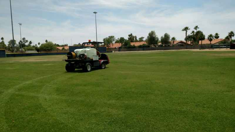 Scottsdale Christian-academy-Pre emergent weed control