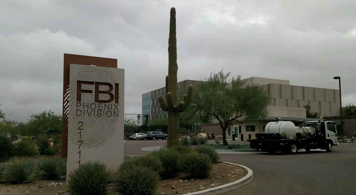 Weed Control For FBI Phoenix Office